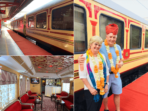 Palace on Wheels Train Pictures