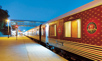 Maharajas' Express Train Exterior