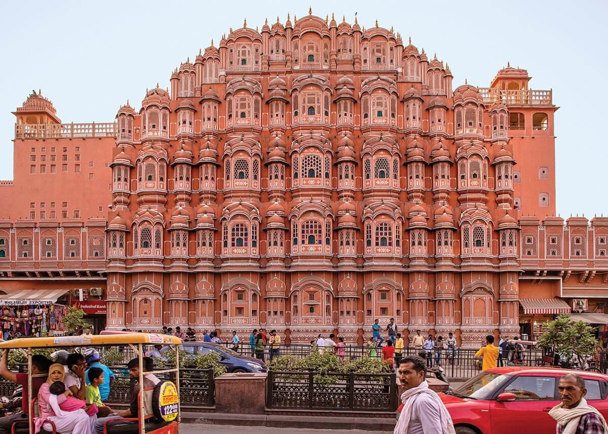 Jaipur Pink City, is now a UNESCO World Heritage Site