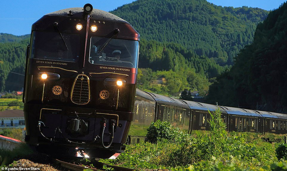 Luxury on Wheels With Seven Stars in Kyushu Japan