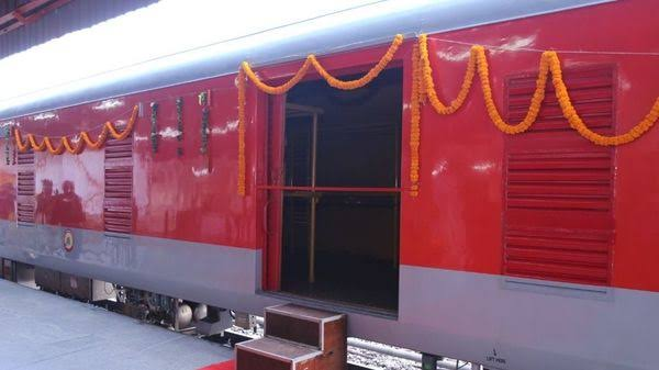 Indian Railways Launches the first-ever High Capacity LHB Parcel Van, can run at speed of 130 kmph