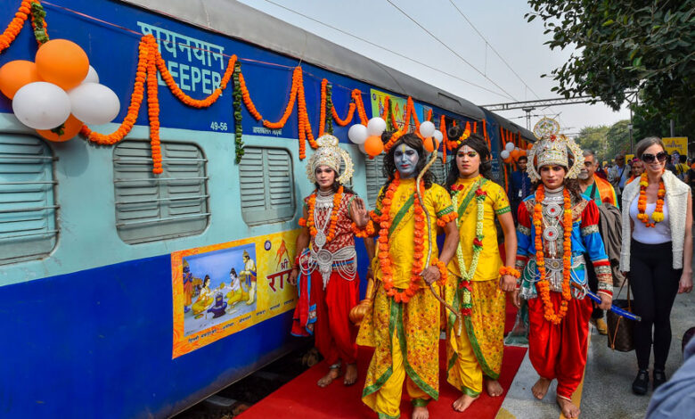 "Indian Railways Announces Launch ""Shri Ramayana Express"" from 28th March 2020"