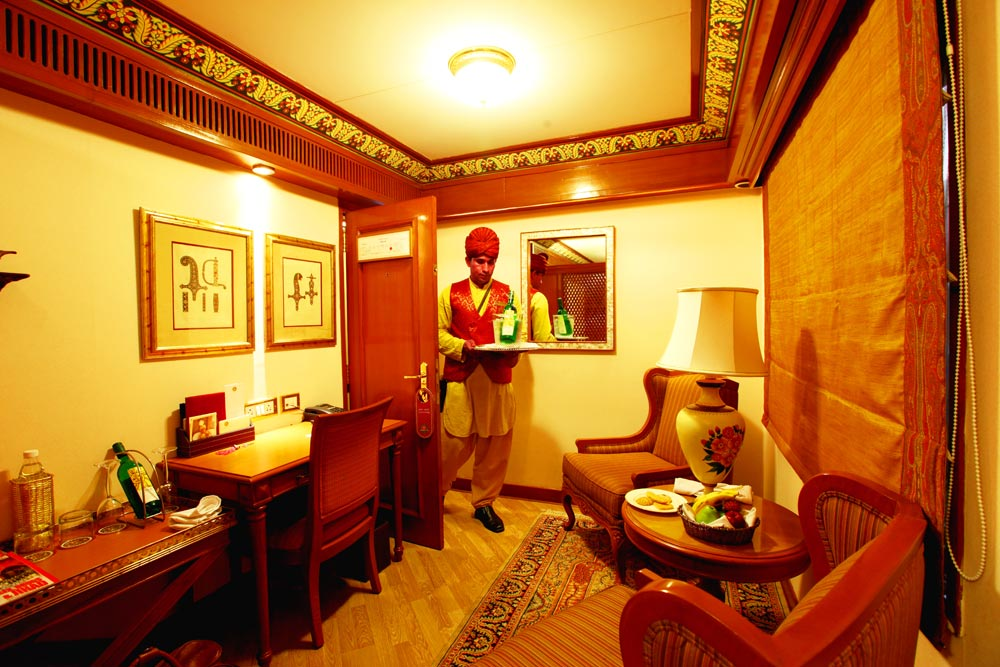 What Type of Accommodation Options available at Maharajas' Express Train?