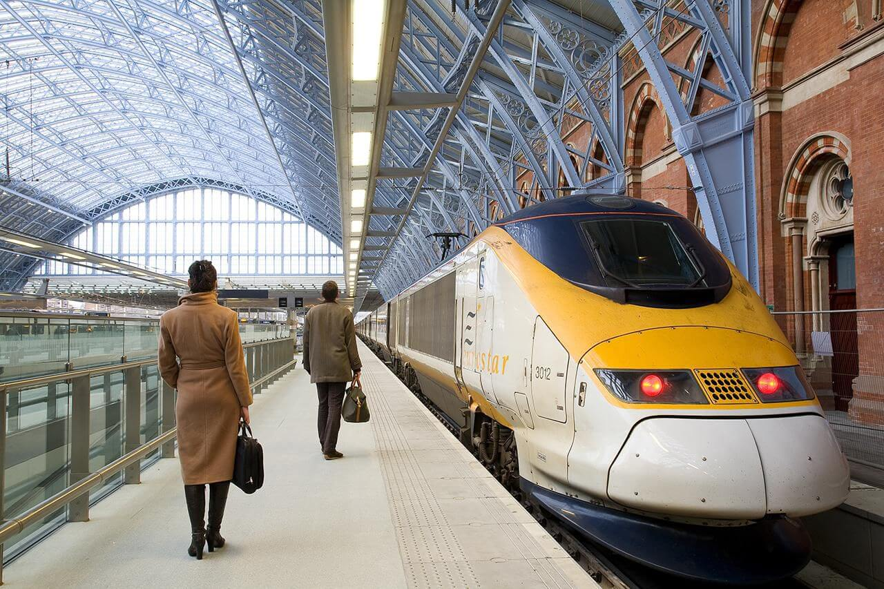 London to Paris by Eurostar Train